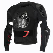 2016 Alpinestars Bionic Tech BNS Protection MX Jacket - Black White Red