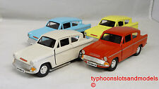 Saico Diecast Ford Anglia - 1:32 Scale - Assorted Colours - New Mint & Unboxed
