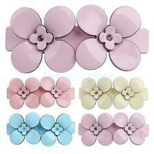 Acrylic Flower Spring Large Hair Slide Barrette Hair Clips Clamp Accessory
