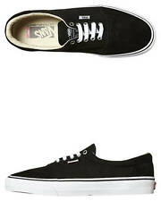 New Vans Skate Men's Rowley Solos Shoe Suede Stretch Mens Shoes Black