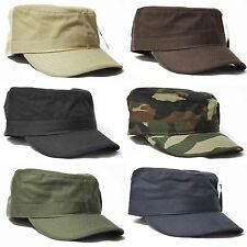 1 PC ETHOS FINE COTTON HIGH QUALITY FITTED ARMY MILITARY CADET HAT CAP