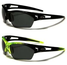 SPORTS SUNGLASSES POLARIZED FISHING MENS LADIES NEW BLACK DRIVING LARGE WRAP BIG