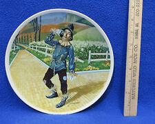 Wizard of Oz Collectors Plate If I Only Had A Brain Scarecrow J Auckland Knowles