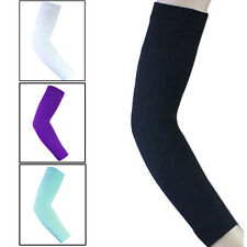 Tennis Sports Elastic Compression Long Arm Elbow Sleeve Brace Support Pain Band