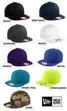 New Era 9Fifty 950 Flat Bill Snapback Hat / Cap NE400 NE 400 BLANK 9 colors