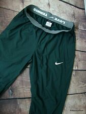 Nike 527970 Women's $80 Tennis Warm-up Pants Lined LOVE TENNIS Training Pant