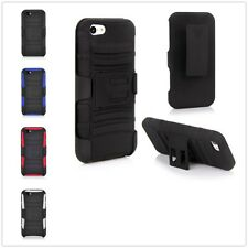 Holster Combo Belt Clip Stand Case Cover For Apple iPhone 5 5S Screen Protector