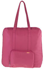 Baggallini Baggs Medium Zippered Out Travel Bag - Pink