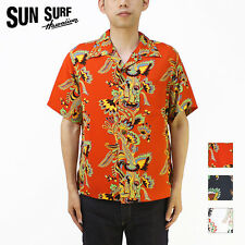 LIMITED EDITION 2016 Reproduction Rayon Hawaiian Aloha Shirt by Sun Surf Japan