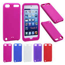 Soft Protector Rubber Silicone Skin Case Cover for Apple iPod Touch 5 5th Gen