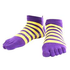 Men's Breathable Socks Cotton Sports Five Finger Socks Low-Cut Toe Socks