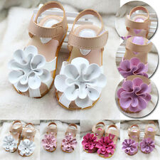 New Kids Girls Angel Baby Princess Shoes Flowers Soft Sandal Shoes Summer