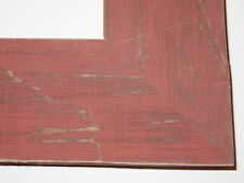 "2.5"" Country Alabama Red Rustic Distressed Wood Picture Frame-Standard"