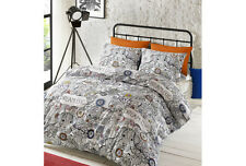 Teenagers Dog Print DOODLE DREAM Bedding Duvet Cover Set  by # Hashtag Bedding