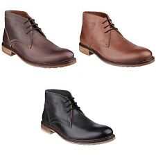 Hush Puppies Mens Benson Rigby Lace Up Chelsea Boots