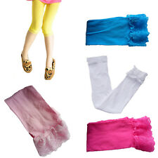 2-12 Year Girl PinkyColor Toddler Short Legging Lace Velvet Stretch Render Pants