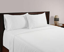 Luxury Bedding Collection 100% Egyptian Cotton 1000 TC White Solid ~ UK