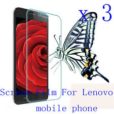 3 Clear Glossy Matte Screen Protector Film Cover Pouch For Lenovo Mobile Phone 2