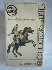 VINTAGE AIRFIX COLLECTORS SERIES / FRENCH CUIRASSIER 1815 / 02555-1 / 54MM SET