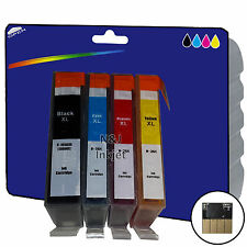 1 Set of Chipped non-OEM Printer Ink Cartridges for HP 364 Range [364 x4]