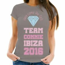 Personalised Here Come the Girls Hen Party T-Shirt, Hen Weekend Keepsakes