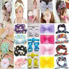 Fashion Kids Girl Baby Headband Toddler Lace Bow Flower Hair Band Accessories TR