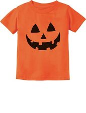 Jack O' Lantern Pumpkin Face Halloween Costume Toddler/Infant Kids T-Shirt Gift