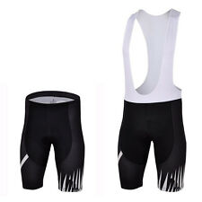 Team Cycling Bibs For Men Spandex Mtb Bike Bib Shorts or Shorts GEL Padded S-5XL
