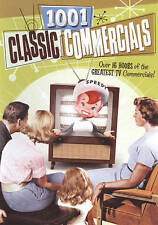 1001 Classic Commercials (DVD, 2009, 3-Disc Set) - NEW, Unopened