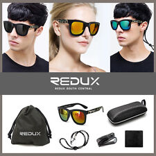 Sunglasses Casual Fashionable Women Redux Mirrored UV400 Eyewear Shades