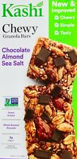 Kashi Chewy Granola Chocolate Almond Sea Salt Chia Omega-3, 6 12 24 or 35 Bars