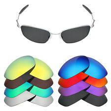 MRY POLARIZED Replacement Lenses for-Oakley Whisker Sunglasses - Option Colors