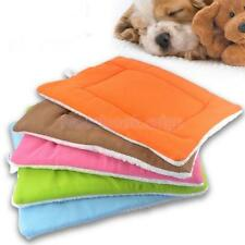 Puppy Fluffy Cushion Dog Cat Sleep Bed Pad Pet House Kennel Nest Mat 5 Color S-L