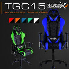 Aerocool Thunder X3 TGC15 Reclinable 180° Professional Gaming Chair Seat NEW