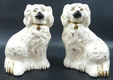 Royal Doulton A Pair Of Staffordshire Flat Back Dogs 1378-6 Old English Dogs