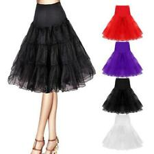 Retro Underskirt/50s Swing Petticoat Slip Wedding Formal Party Fancy Net Skirt