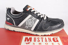 Mustang Men's Lace-up Shoes Sneakers trainers Low shoe, grey Rubber sole NEW