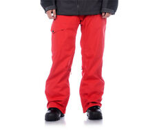 Aperture Definition Pants Ski Snowboard 10k Waterproof Mens Red XL