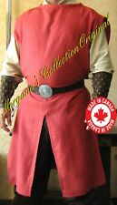 Medieval Knight Men-at-arms SCA Slitted Surcoat