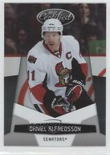 2010-11 Certified #100 Daniel Alfredsson Ottawa Senators Hockey Card 0b3
