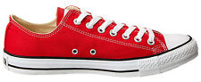 Converse Chuck Taylor Low Tops Red Available Size Sneakers Mens Shoes