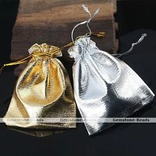 50pcs 7x9cm Favour Organza Gift Bag Christmas Wedding Jewelry Gauze Pouch Lots
