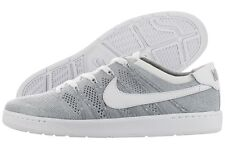 Nike Tennis Classic Ultra Flyknit 830704-002 Wolf Grey White Shoes Medium Men