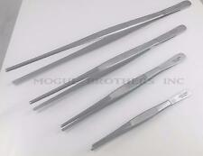 Non Serrated Tweezers Stainless Steel 6 to 12 inch