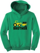 Big Brother Gift for Tractor Loving Boys Toddler Hoodie Announcement