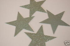 34 x Silver Large 12cm Star Foam Shapes by Hobbycraft