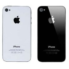 New Battery Cover Back Glass Rear Panel Replacement for Apple iPhone 4 4S