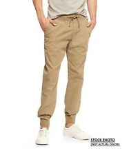 BRAND NEW GAP LIVE IN COTTON CANVAS MEN'S JOGGER PANTS OLIVE GREEN SZS S-M-L-XL