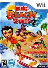 BRAND NEW Sealed Big Beach Sports 2 (Nintendo Wii, 2010)