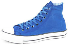 New Men's Converse Ct White Wash Hi Blue Footwear Hi-top Sneakers Boots